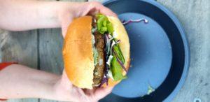 Vege burger - a Hadas special