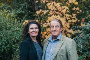 Sarah and Richard Burdon owners of The Camp